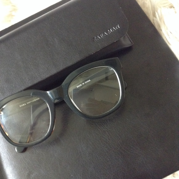 b7d8a8be78 ... THIS ITEM IS SOLD!  zara man  glasses. M 5abeda3e2ab8c5e6fbb48ff6